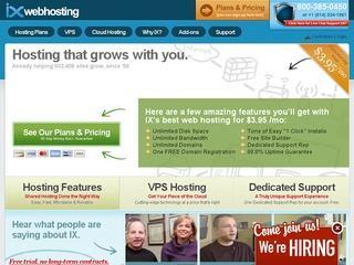 IX Web Hosting